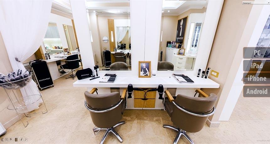 Dessange beauty salon in moldova 3d tour photo galery for Dessange hair salon